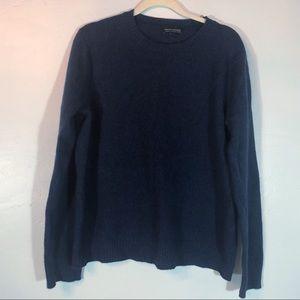 Banana Republic Italian wool blue sweater